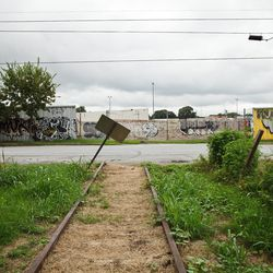 The trail reenters to old train corridor at Stein Steel in Reynoldstown at Flat Shoals Avenue.