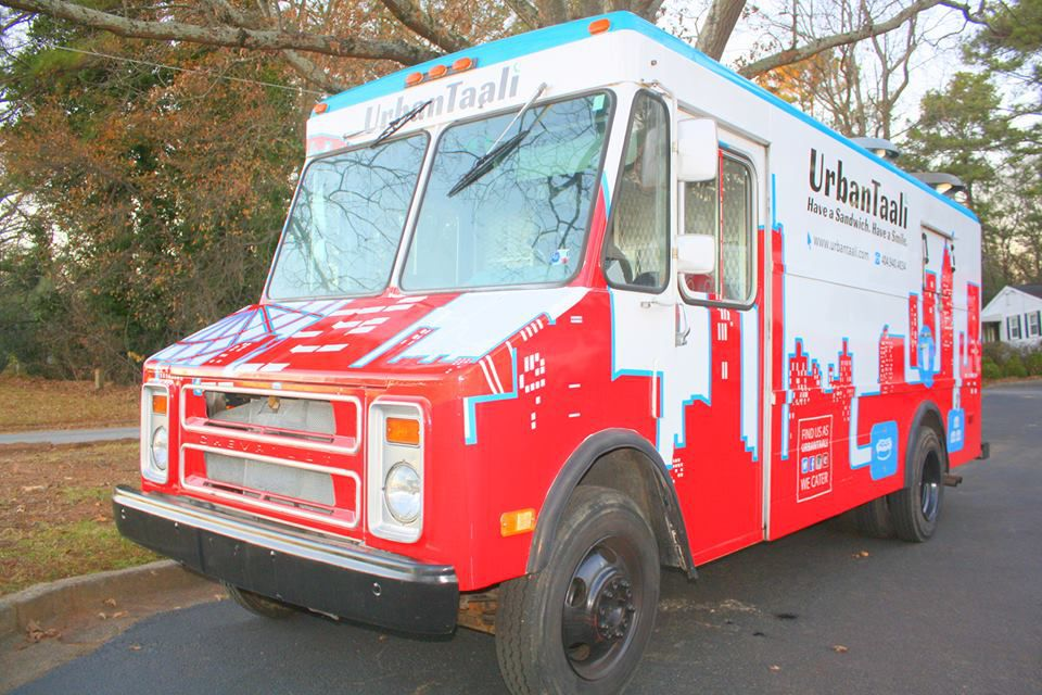 Urban Taali food truck