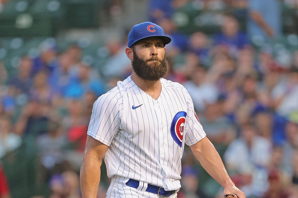 The Cubs released starting pitcher Jake Arrieta on Thursday.