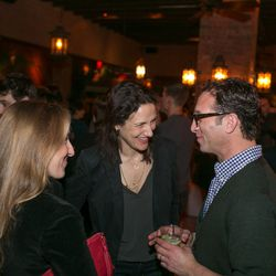 Pavia Rosati with departing Eater Chicago editor Ari Bendersky