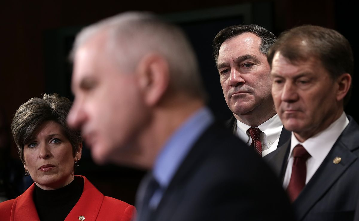 Indiana Democrat Sen. Joe Donnelly is trying to bill himself as a bipartisan candidate.