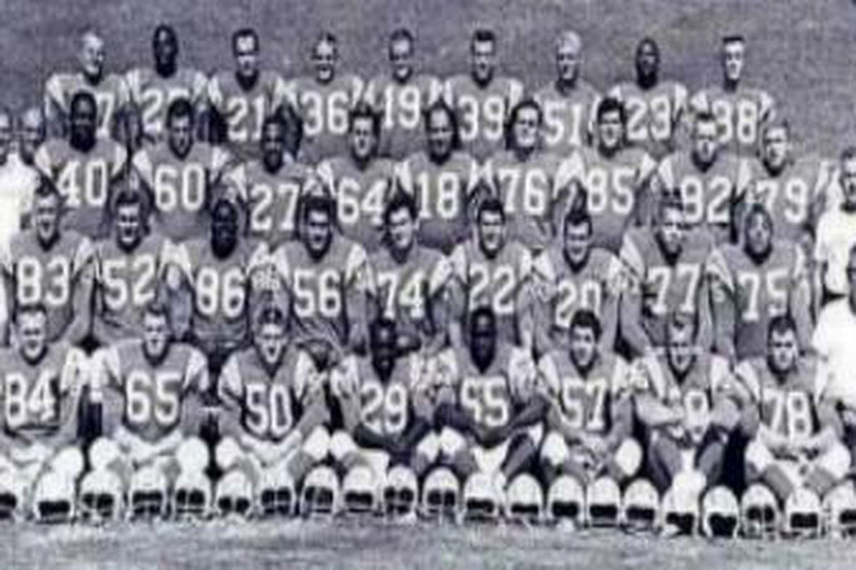 A History Of The San Diego Chargers Part 5 The Pinnacle Bolts