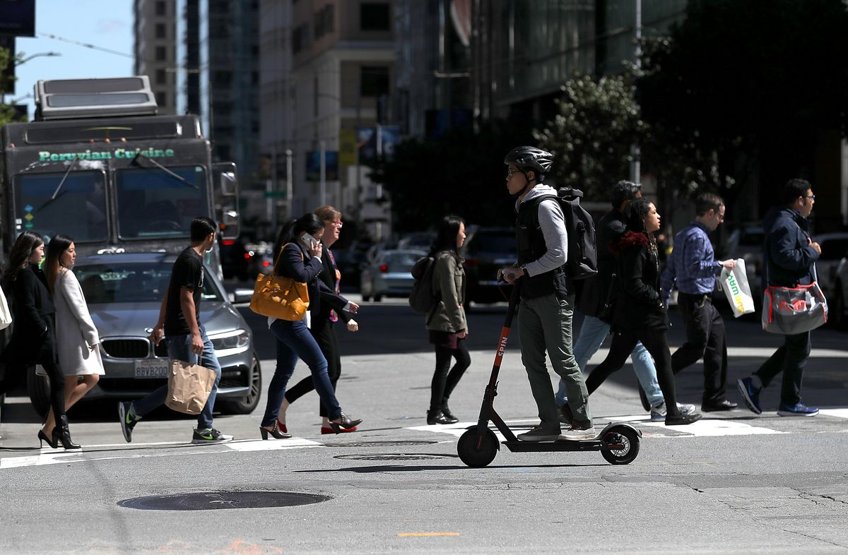 San Francisco Battles New Electric Scooter Rentals
