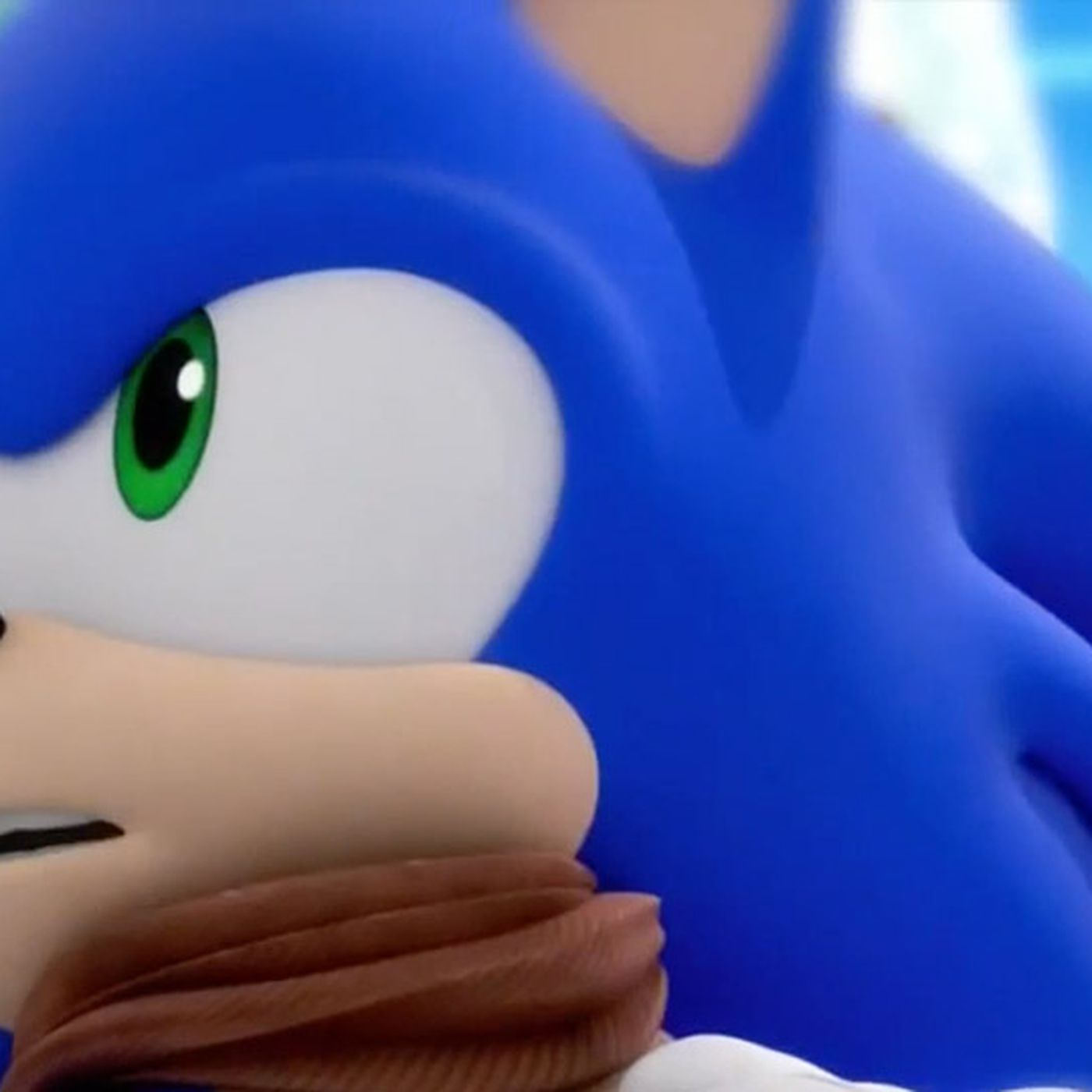 The Sonic the Hedgehog cartoon got real weird for a brief