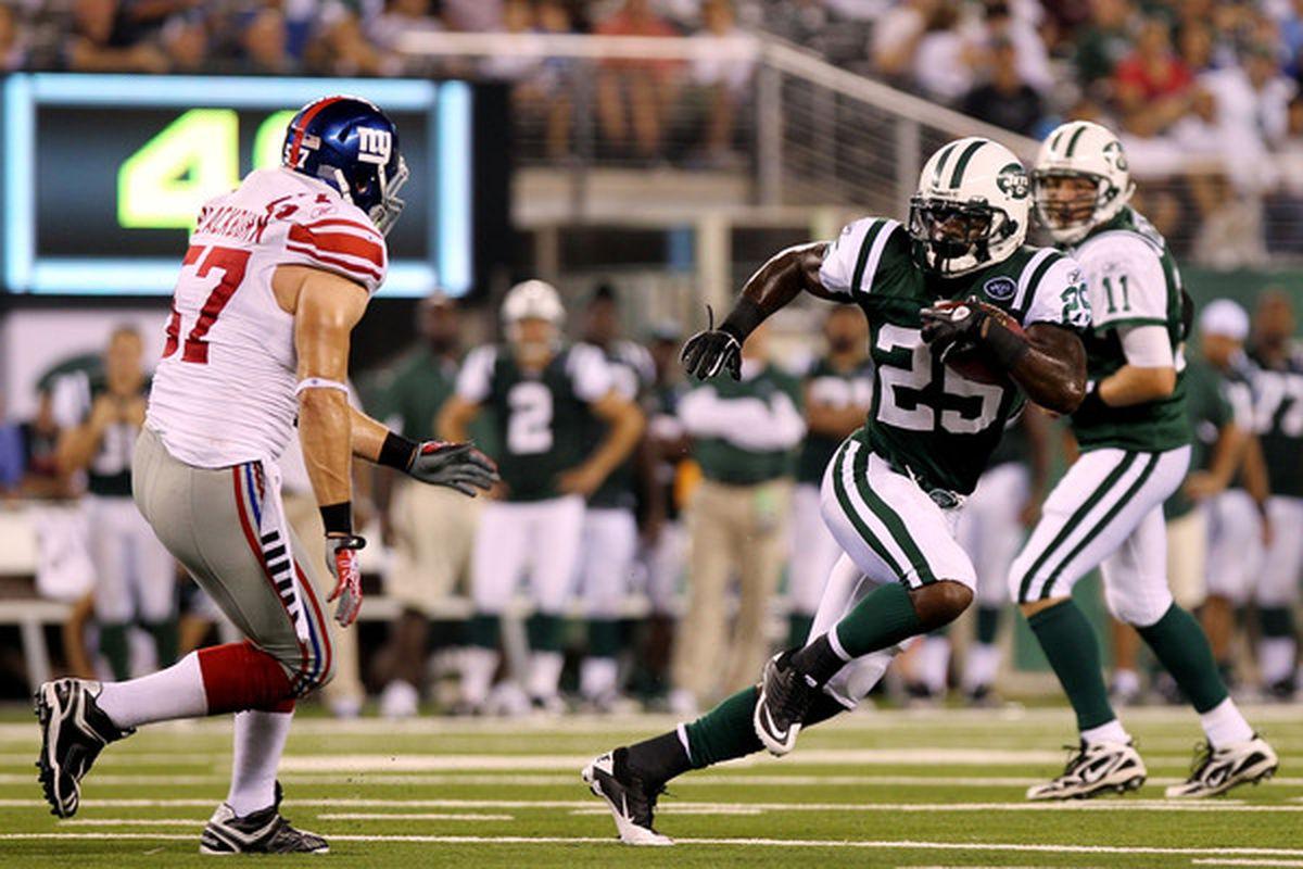 Jets vs. G-Men will go ahead at 2 PM on Saturday. Go Big Blue.