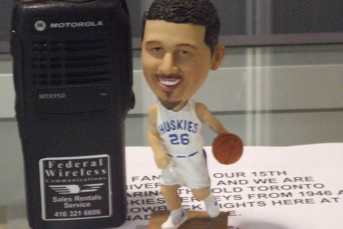 """It's Bobbly-Hedo night at the ACC, the first of six throw-back """"Huskies"""" nights..."""