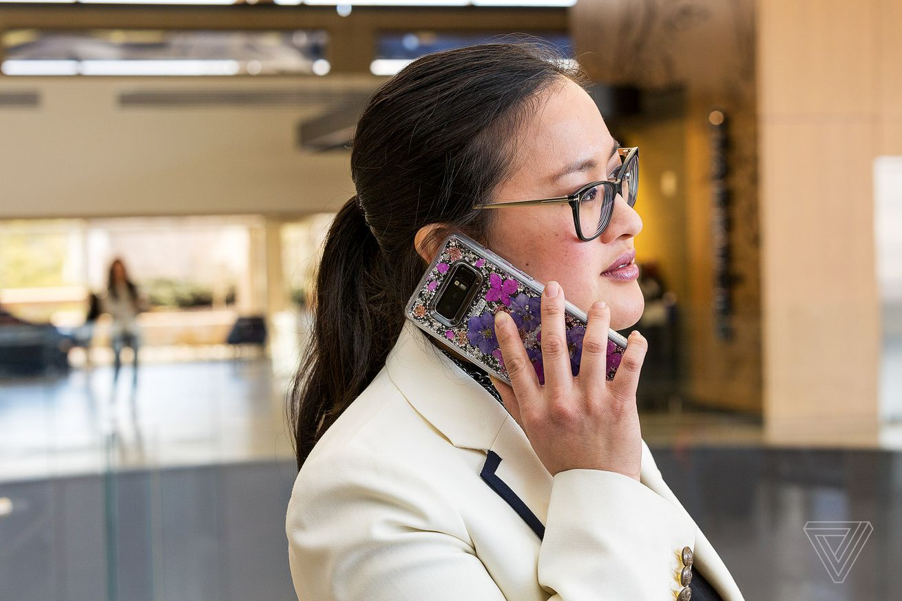verizon and at t have vastly different ideas about phone cases