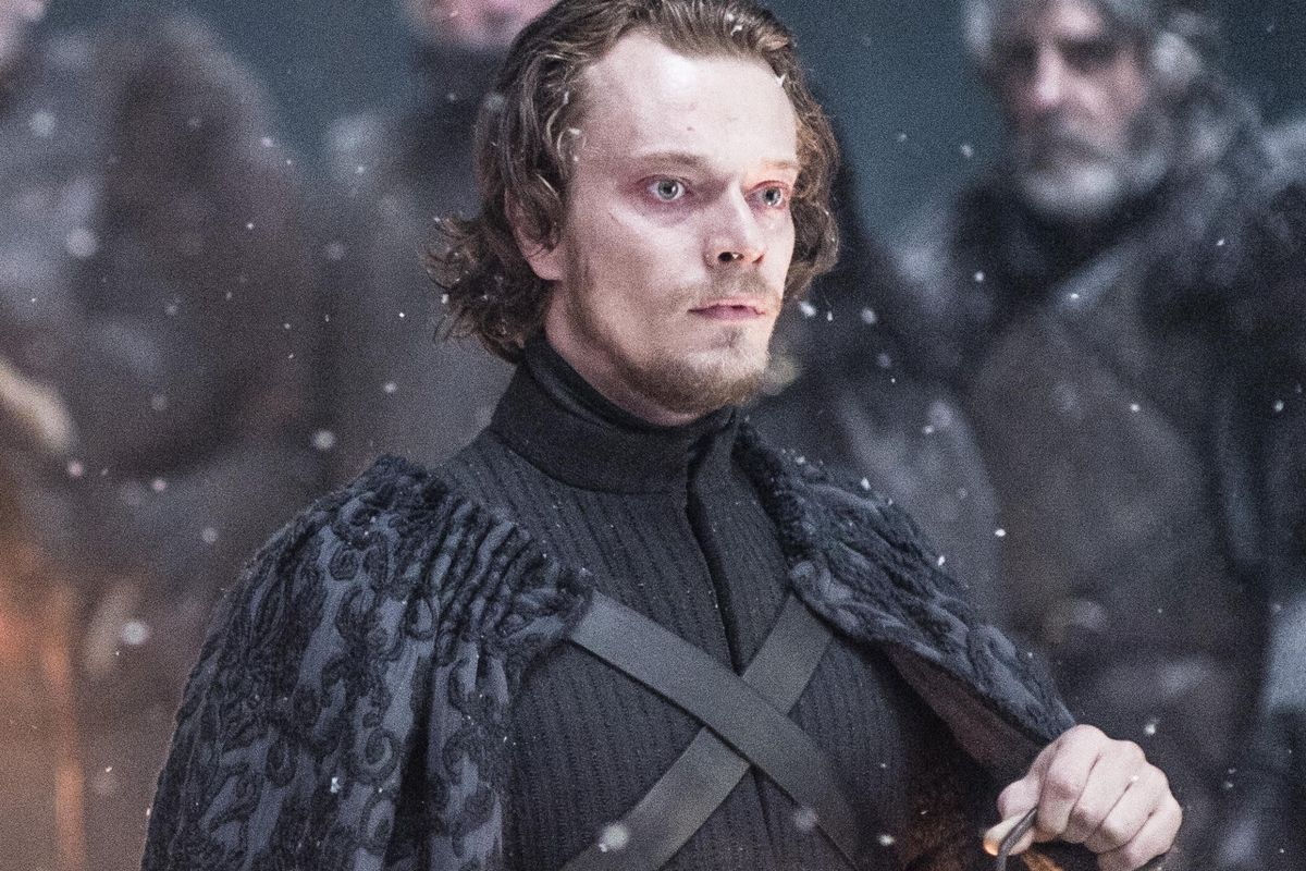 """Theon Greyjoy, who's currently known as """"Reek."""""""