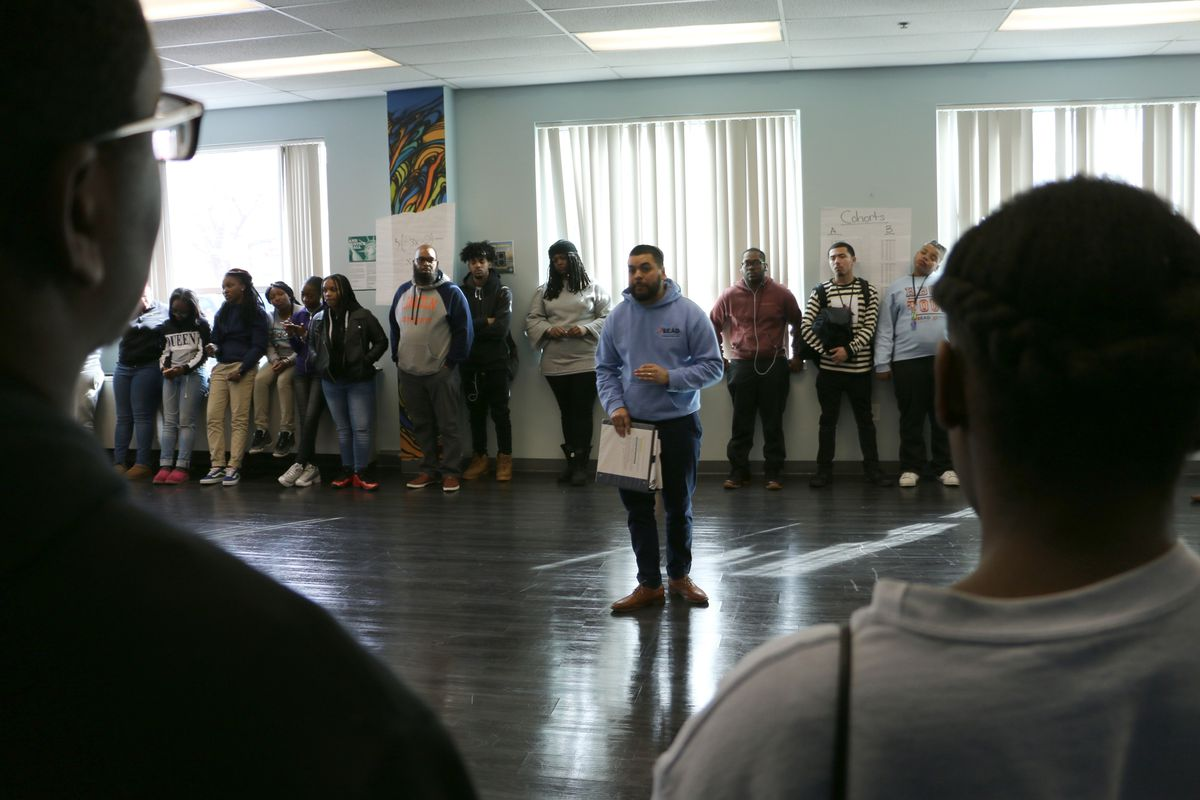 The school's co-director, Juan Acevedo, called an emergency assembly to discuss attendance.