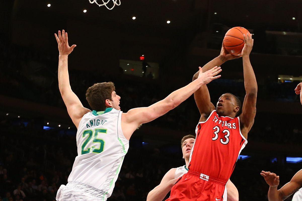 Big East Basketball Tournament - Second Round - Rutgers v Notre Dame