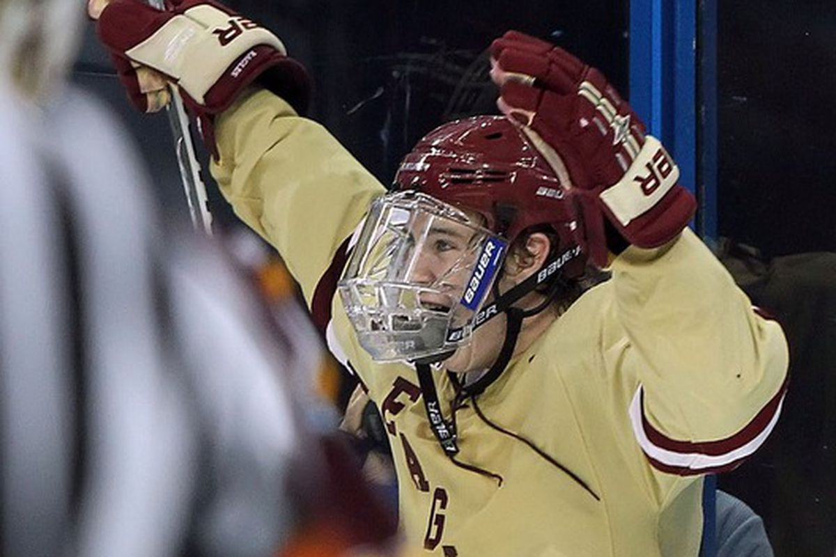 Boston College's Kevin Hayes