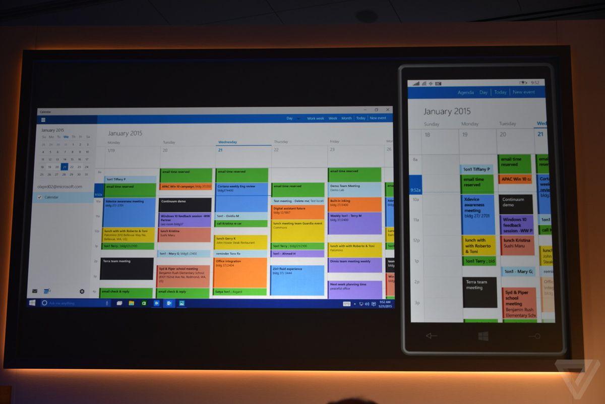 Windows 10 universal apps in photos