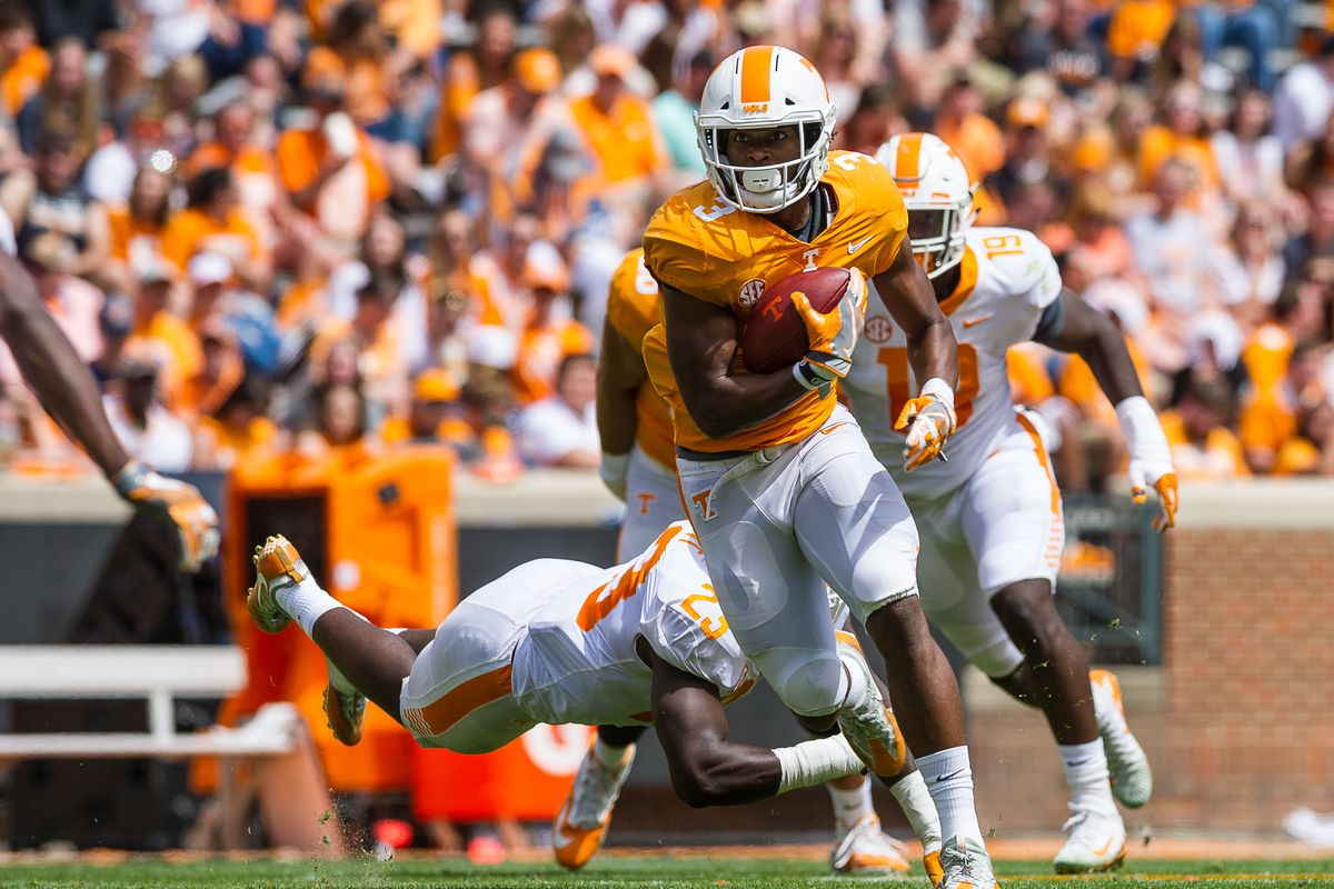 COLLEGE FOOTBALL: APR 21 Tennessee Spring Game