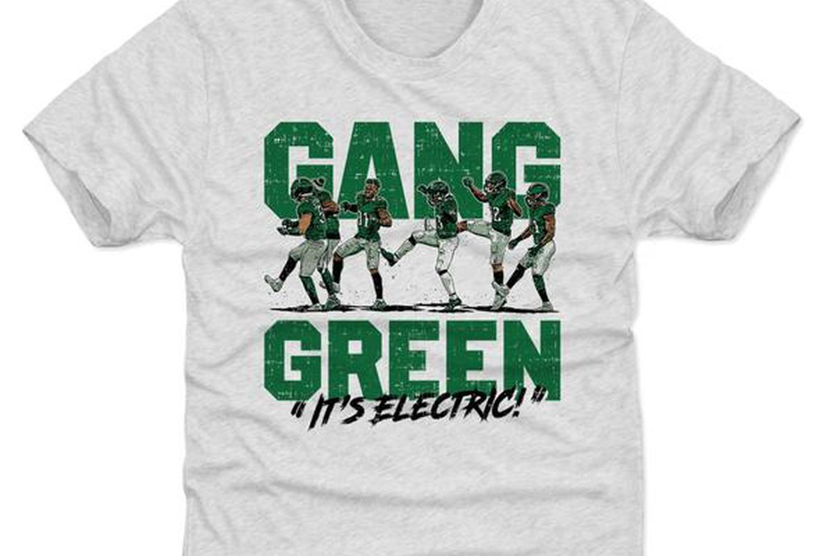 519f9955 The Eagles 'Gang Green' shirts are now for sale - Bleeding Green Nation