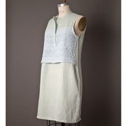 "<b>Clu</b> Lace Dress, <a href=""http://www.achengshop.com/products/cluny-lace-dress"">$295</a> at A.Cheng"