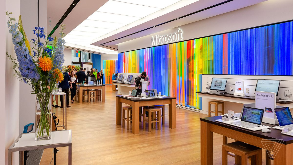 Microsoft's new London store is big, bold, and British - The Verge