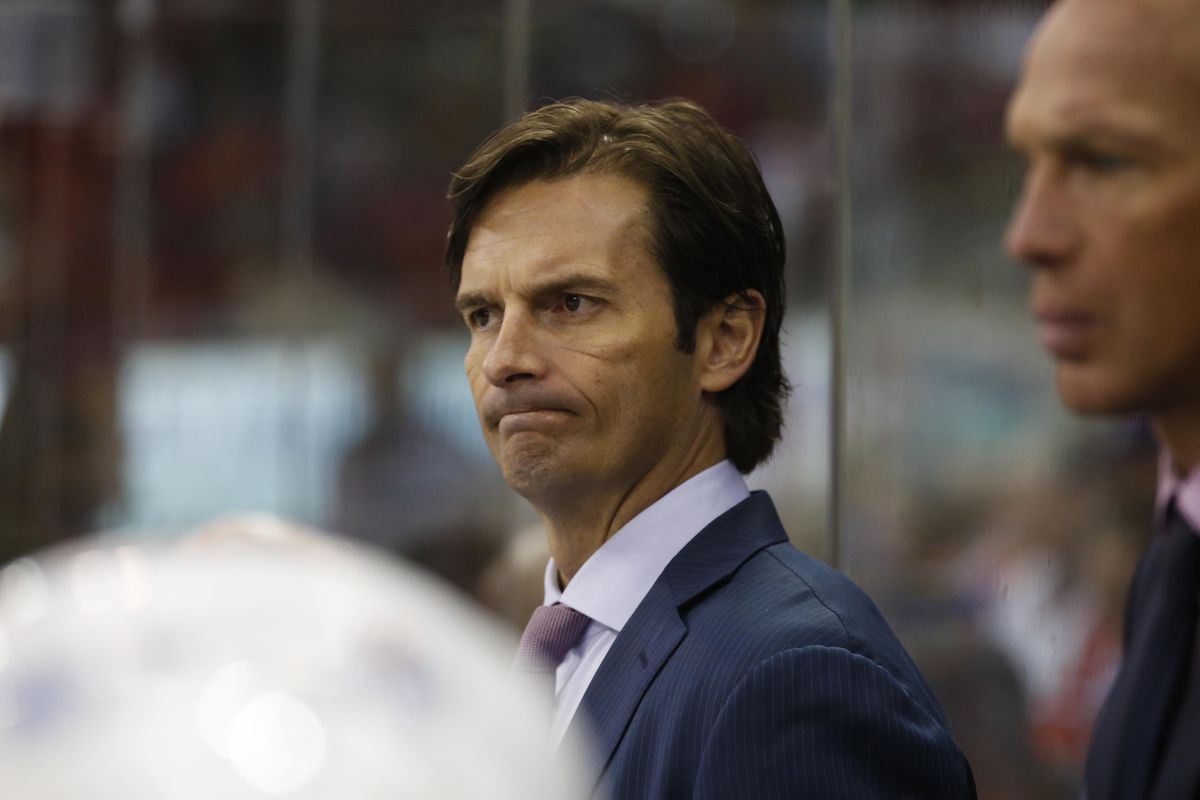 Future Lightning head coach Dallas Eakins tries to remember something, anything about the minutes he spent in Dade City, where he was born.