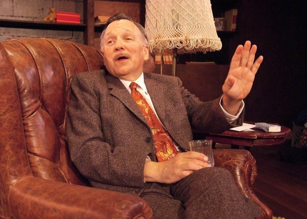 """Actor-playwright James Sherman will perform his one-man show, """"The Ben Hecht Show,"""" at Evanston's Piven Theatre. (Photo: Ed Krieger)"""