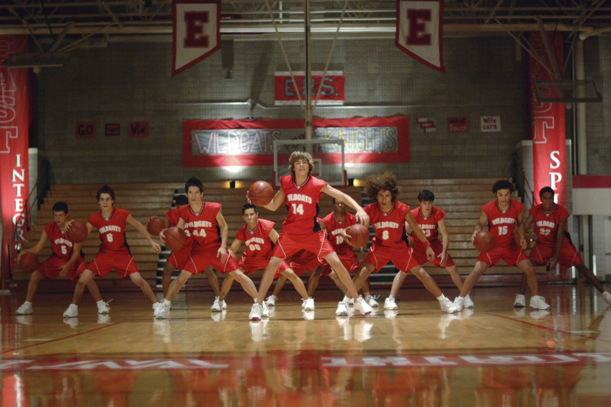 """The Disney Channel Original Movie """"High School Musical"""" tells the story of two high school students — Troy (Zac Efron), a popular basketball player and Gabriella (Vanessa Anne Hudgens), a shy, brainy newcomer — who share a secret passion for singing. The"""