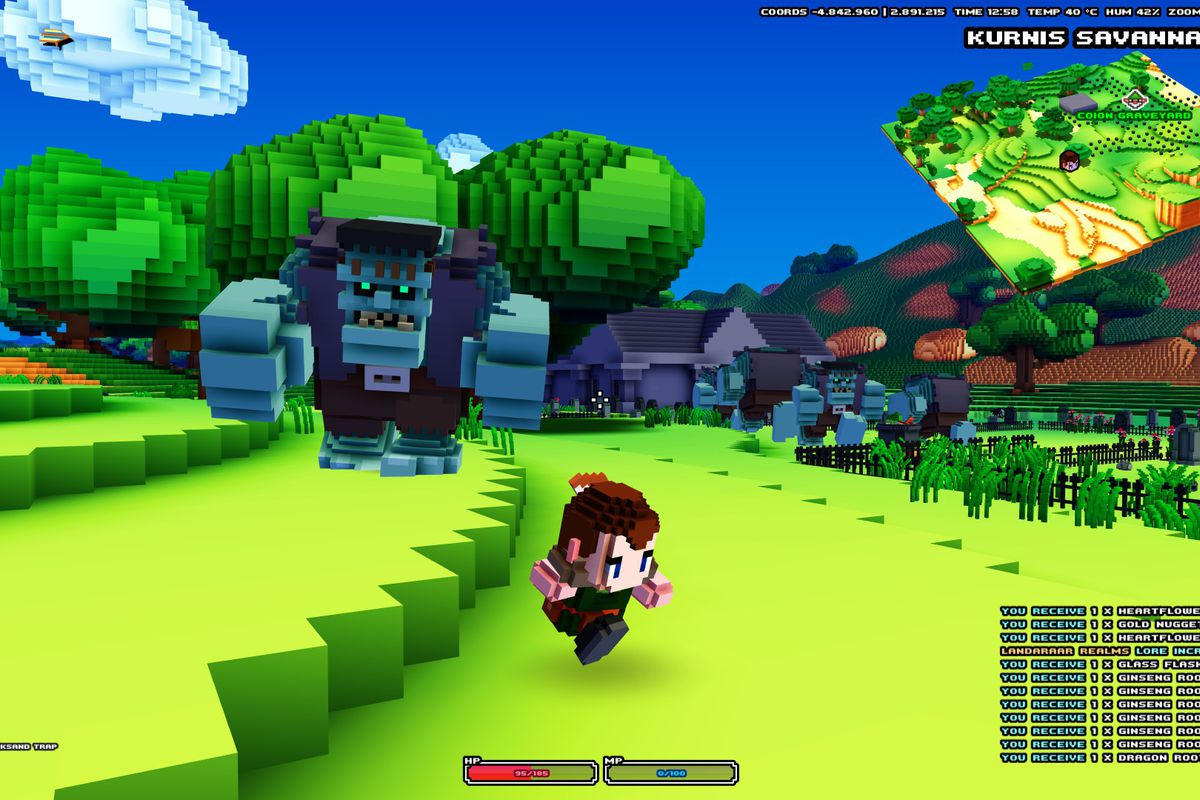 utterly stylish for whole family a few days away Cube World was never going to live up to the hype - Polygon