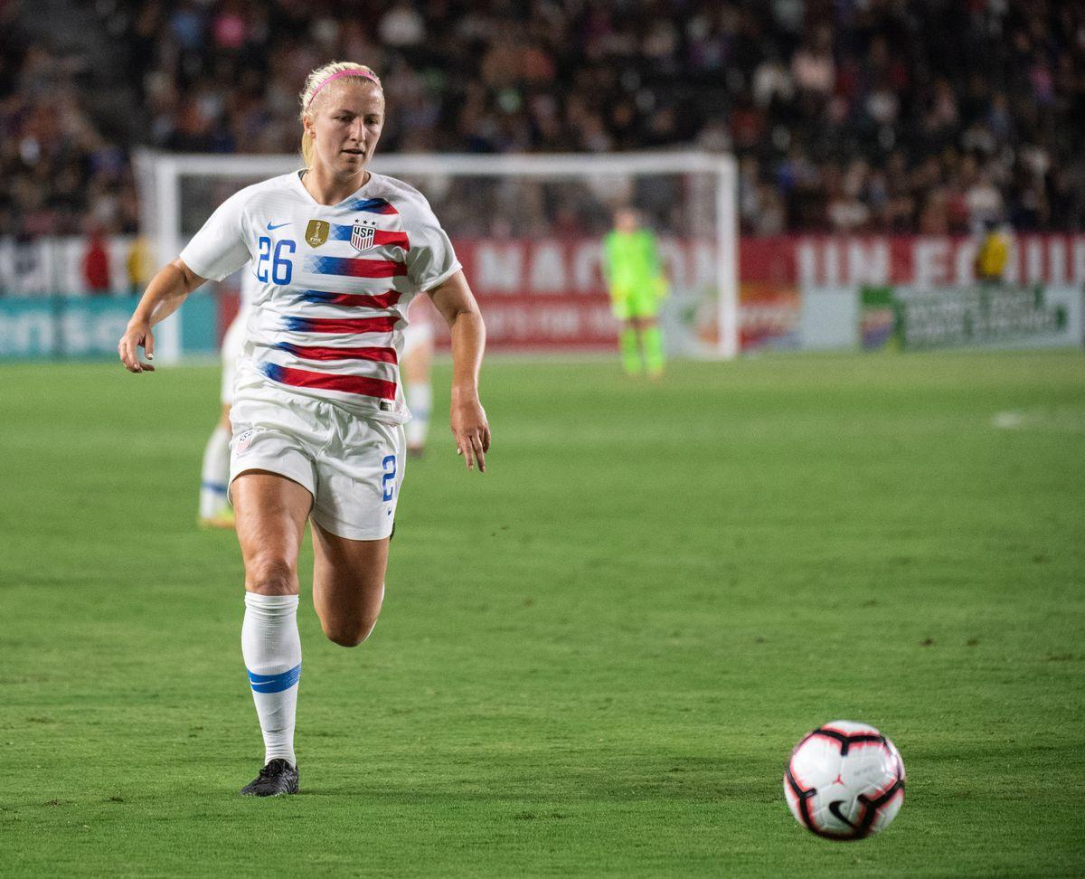 SOCCER: AUG 31 Women's - Chile v USA