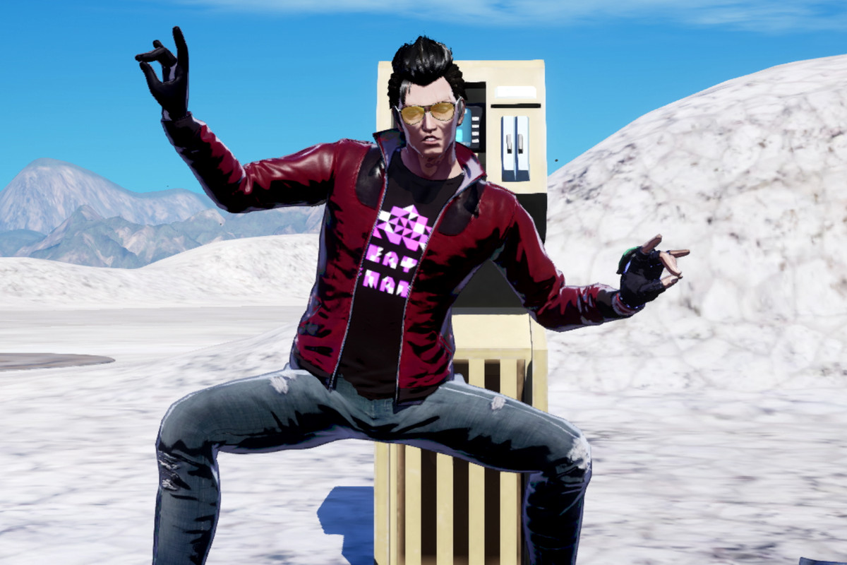 Travis Touchdown from No More Heroes 3