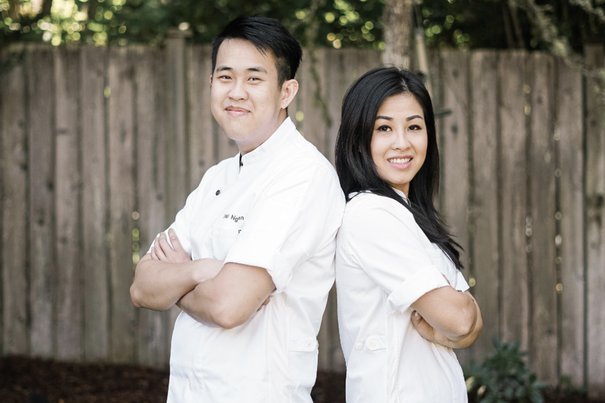 Pictured are siblings Thai and Trinh Nguyen, who will open Ba Sa on Bainbridge Island this summer.