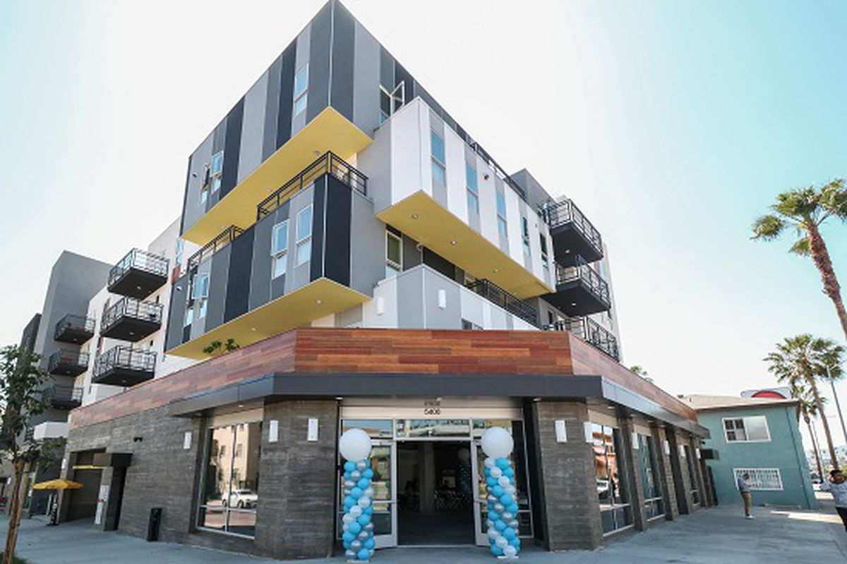 5 story affordable housing project in east hollywood will open fully