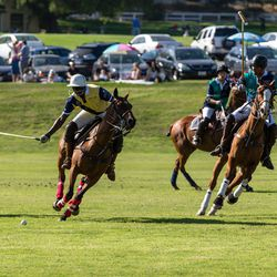 """<span class=""""credit"""">Photo by Dominic James</span></br> First things first: the polo game. The U.S.'s Will Rogers Polo club (which included the club's own president, Andrew Bossom) joined forces with patronage from Royal Salute, playing against the <a hr"""