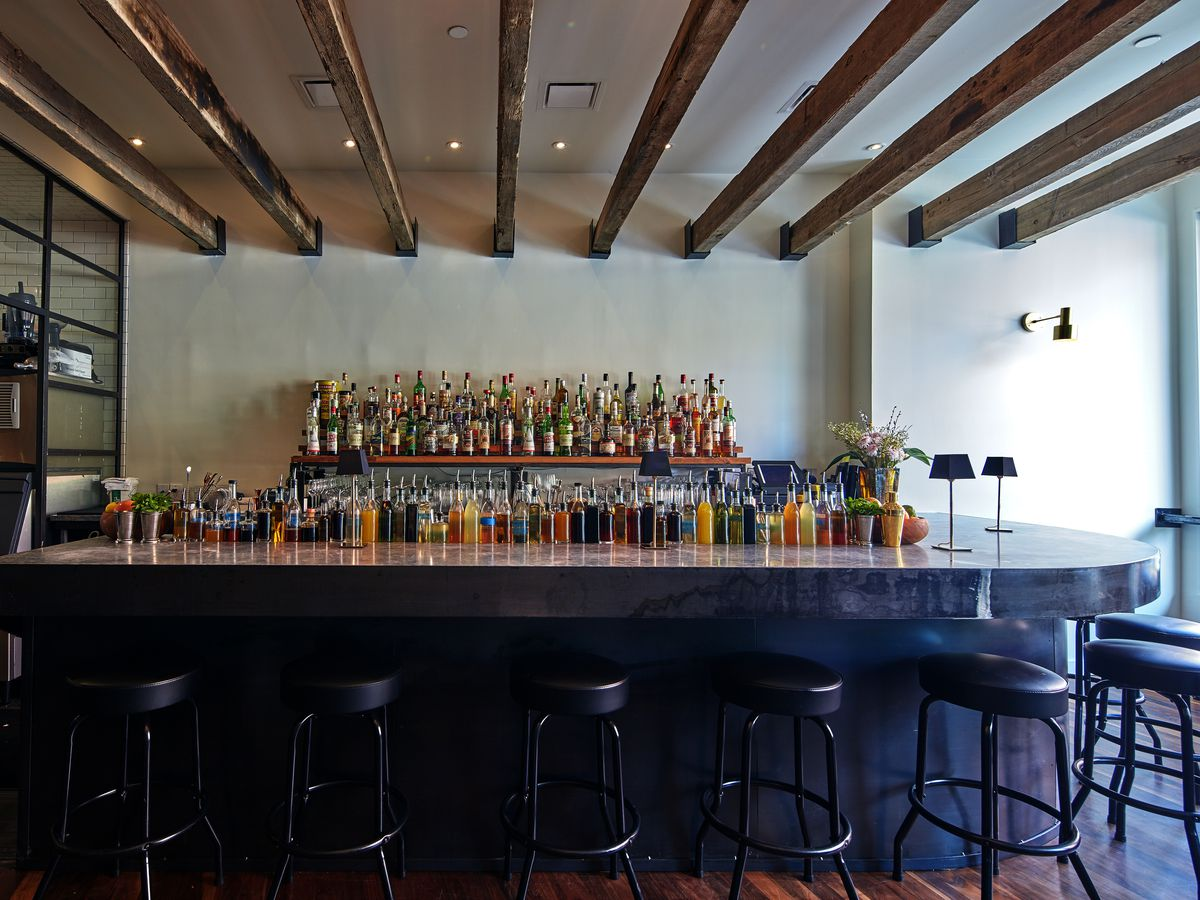 Look Inside Amer, Inman Park's Sparkling New Cocktail Bar