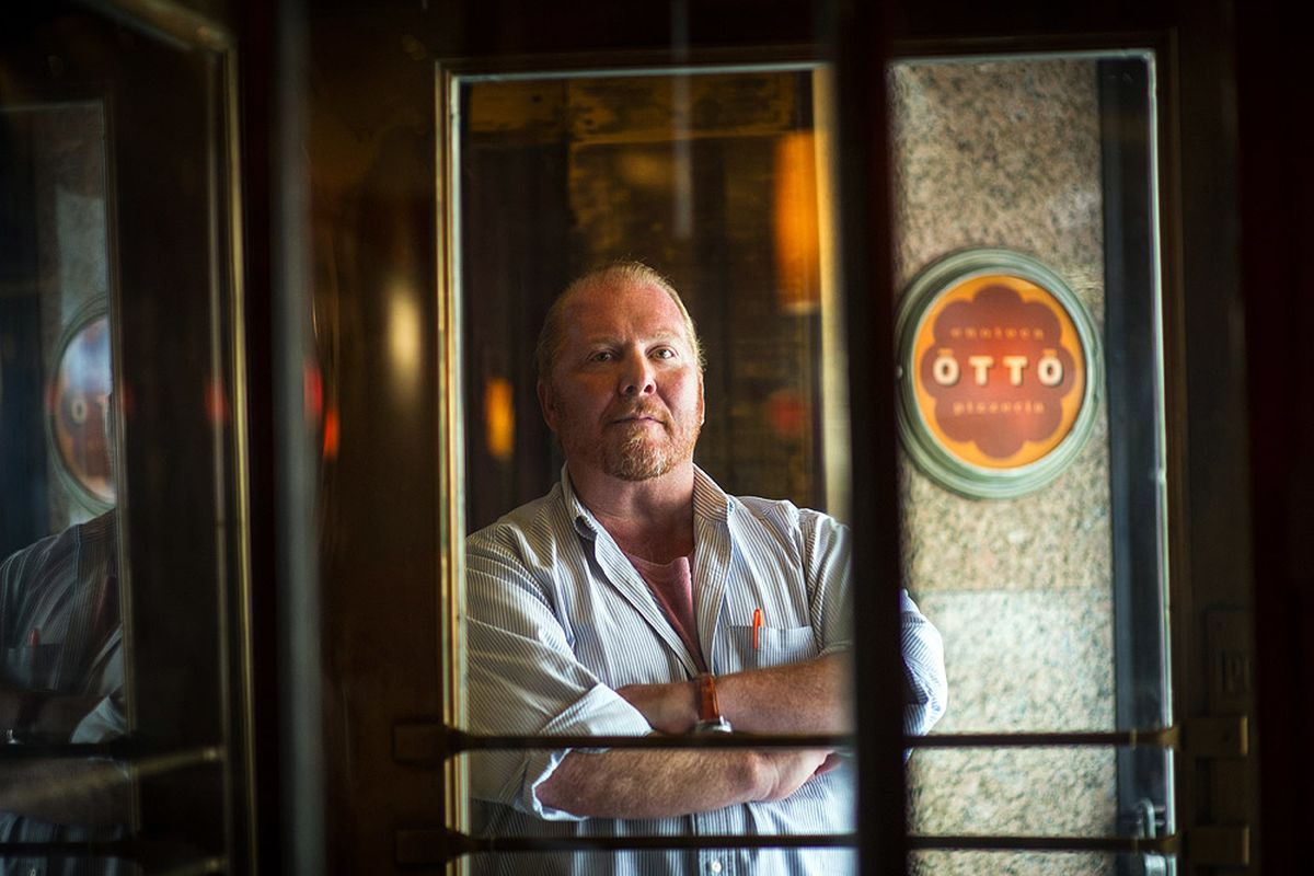 Mario Batali Sued By Woman Who He Allegedly Groped - Eater NY