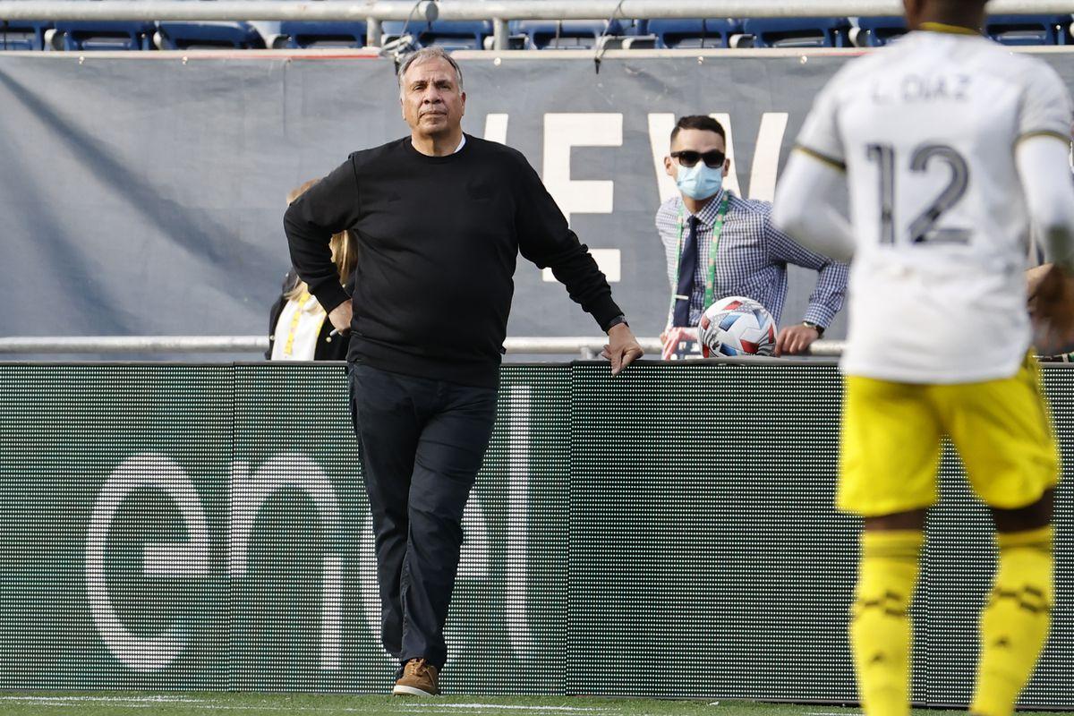 SOCCER: MAY 16 MLS - Columbus Crew SC at New England Revolution