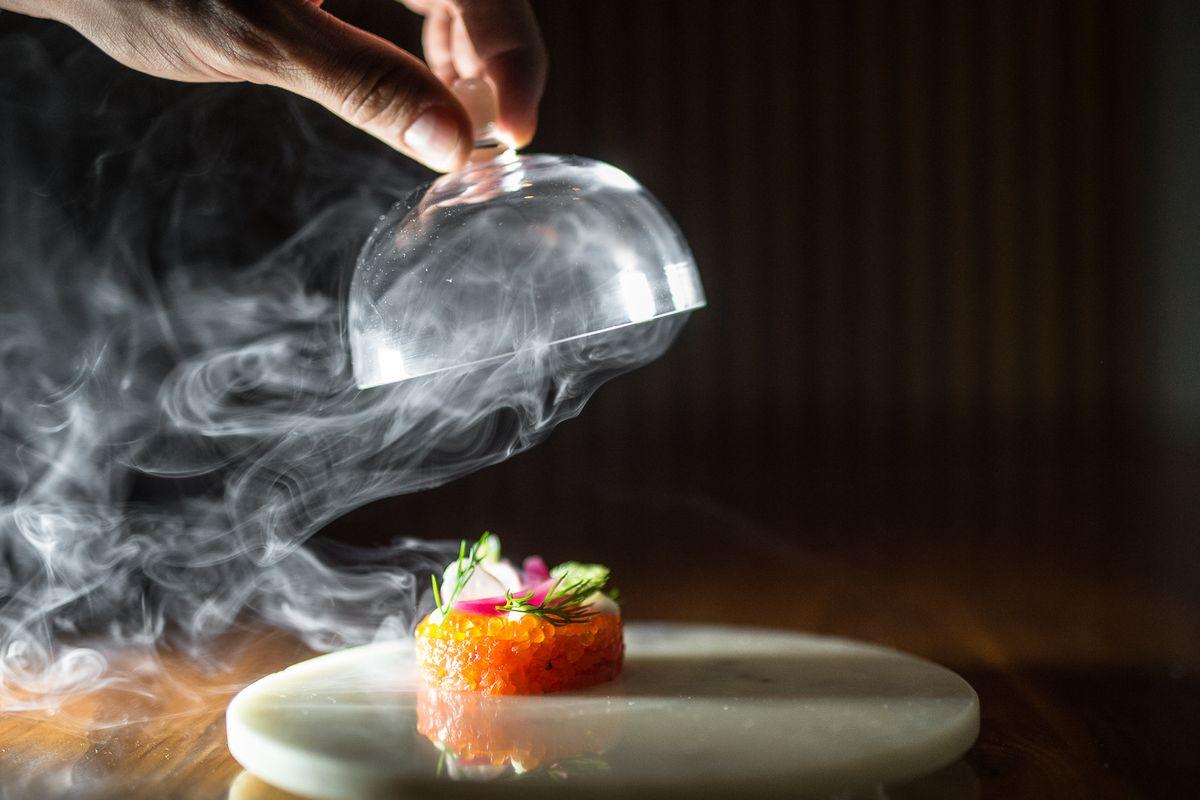 Aquavit's Salmon Tartare