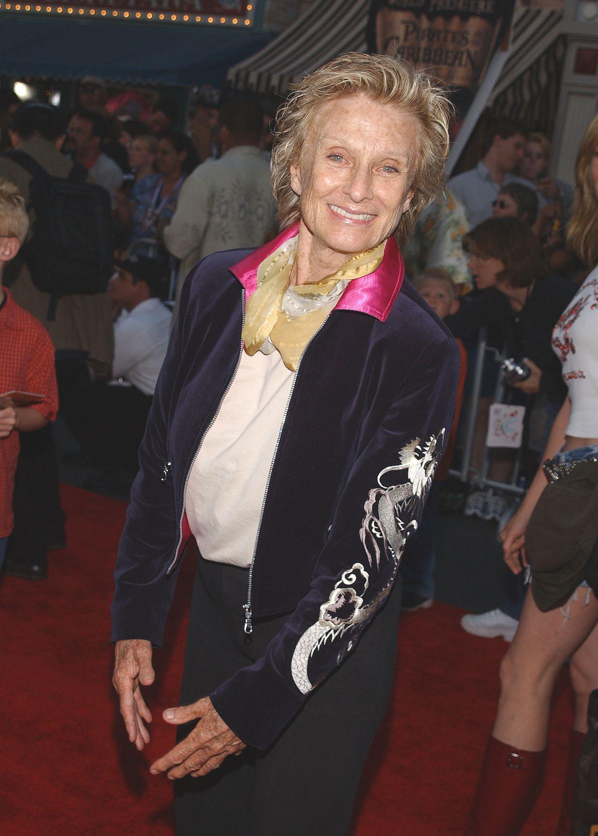 Cloris Leachman at the Pirates premiere