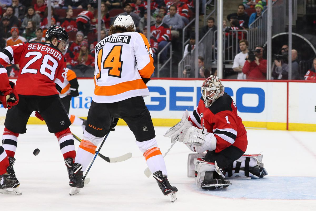 reputable site 75c51 6e545 Gamethread #44: New Jersey Devils vs. Philadelphia Flyers ...