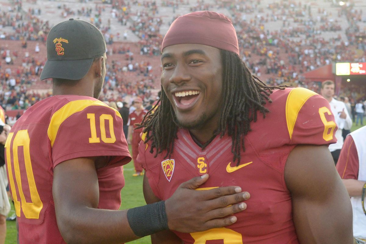 I think Josh Shaw just found out what's going to be in his Holiday Bowl swag bag.