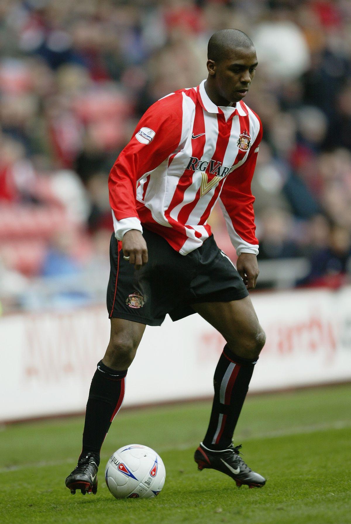 Darren Byfield of Sunderland...