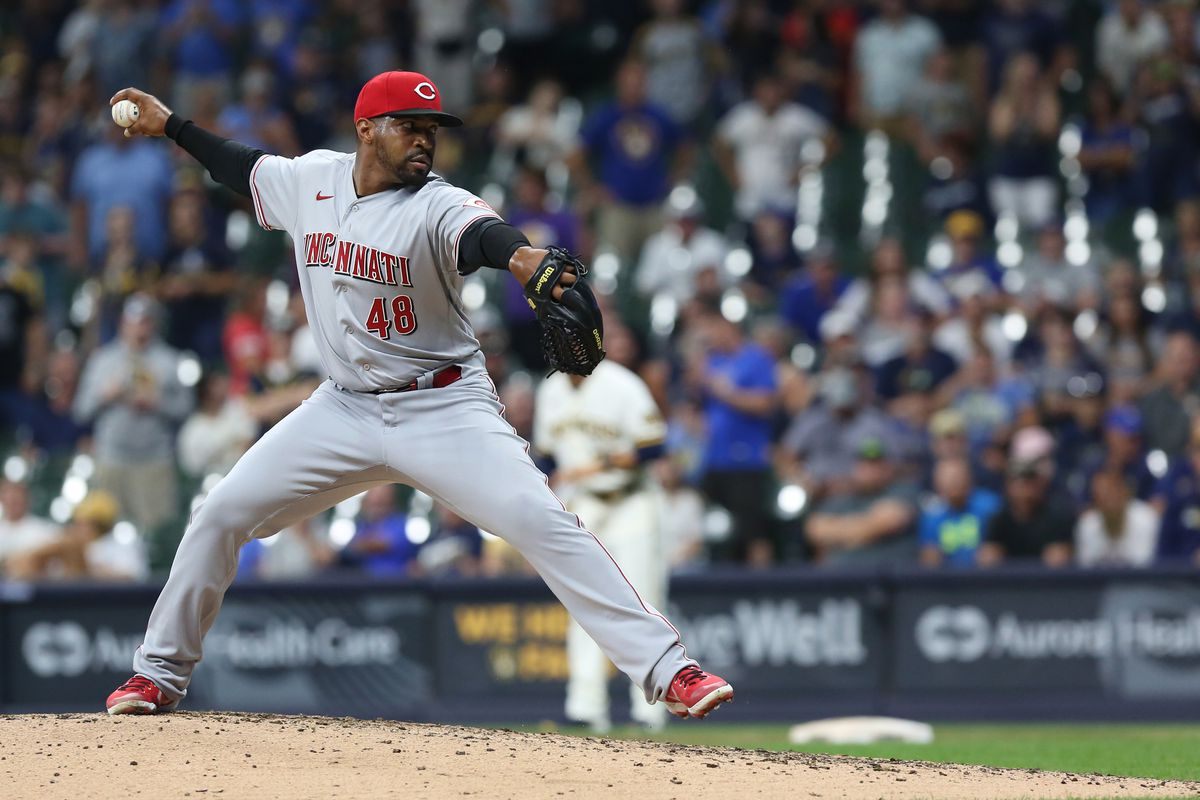 MLB: AUG 24 Reds at Brewers