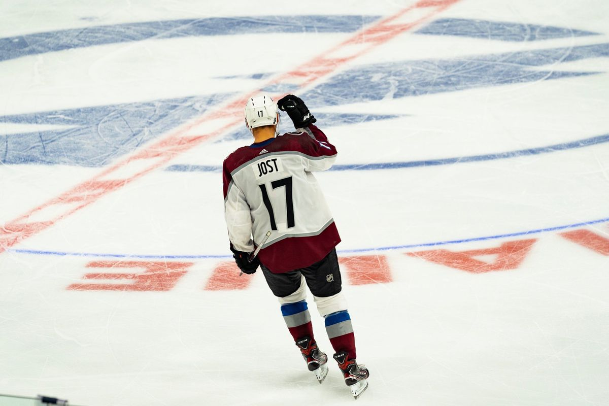 Tyson Jost Hat Trick leads Avalanche to 6-2 victory