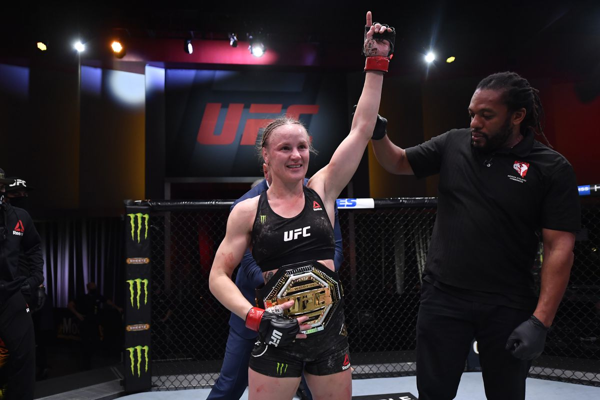 UFC 255 results: Valentina Shevchenko retains title with unanimous decision win over gritty Jennifer Maia