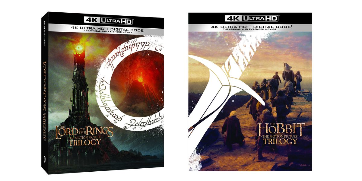 The Lord of the Rings and The Hobbit trilogies are being released on 4K Ultra HD Blu-ray - The Verge