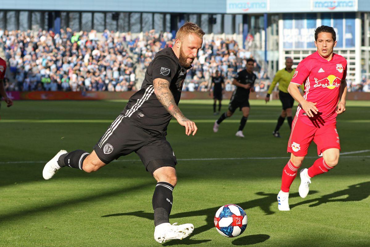 SOCCER: APR 14 MLS - New York Red Bulls at Sporting Kansas City