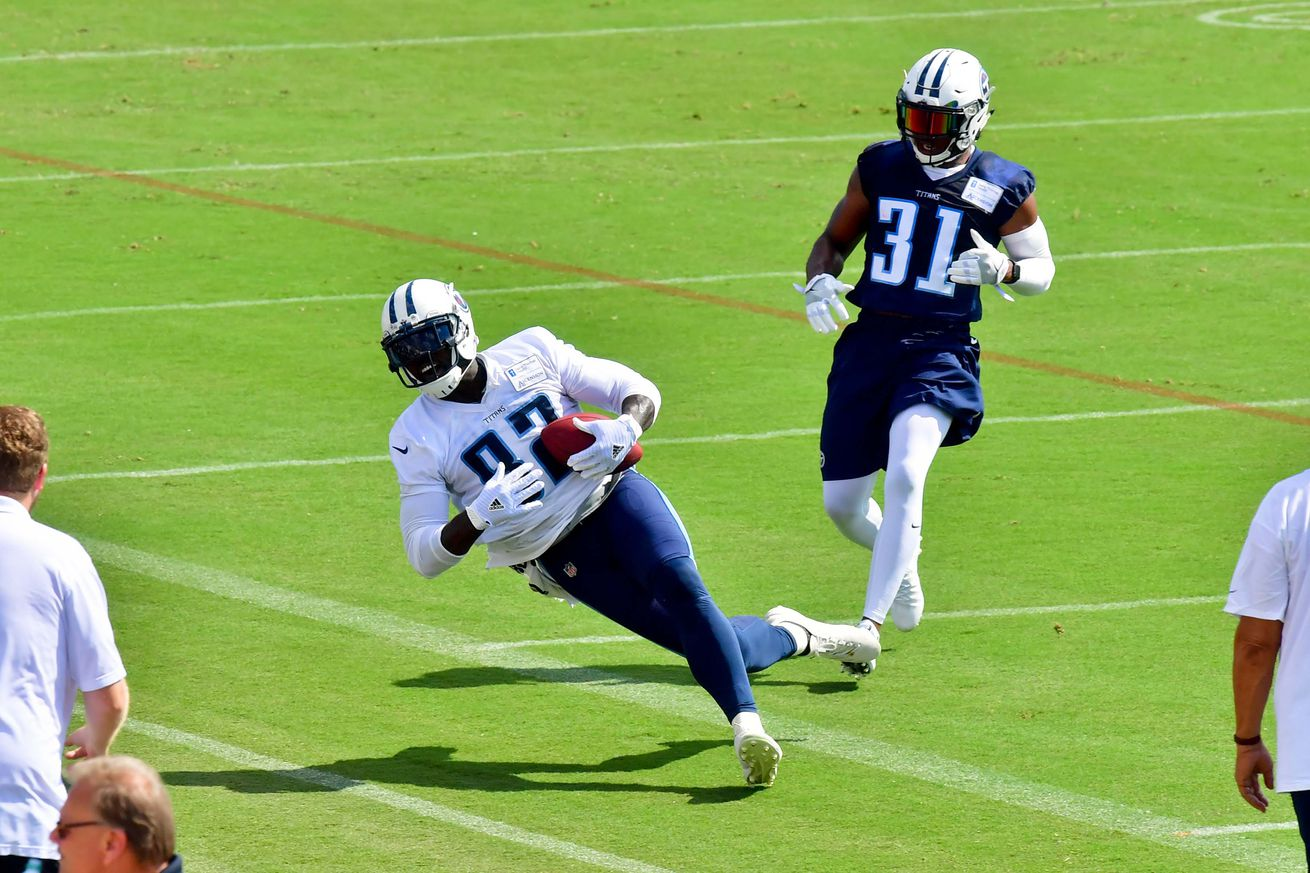 Titans training camp day 8 open thread