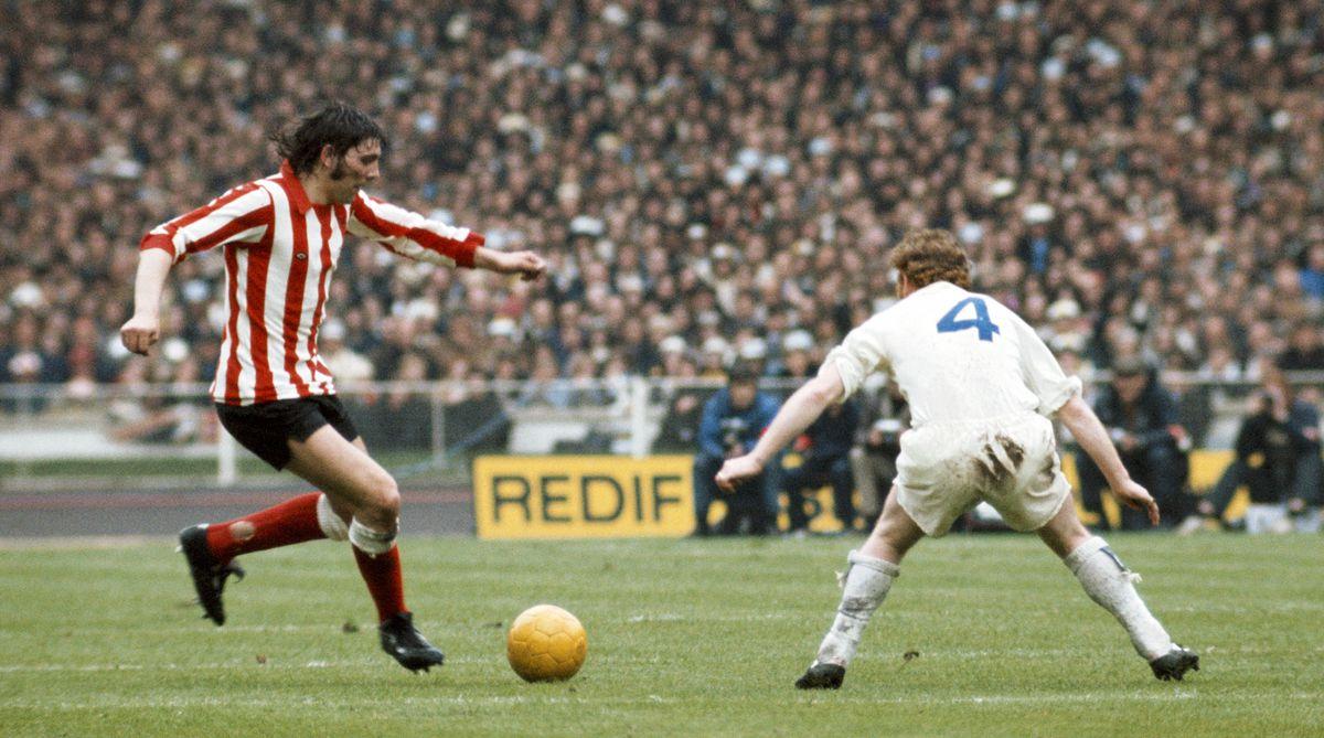 Ian Porterfield Sunderland v Leeds United 1973 FA Cup Final