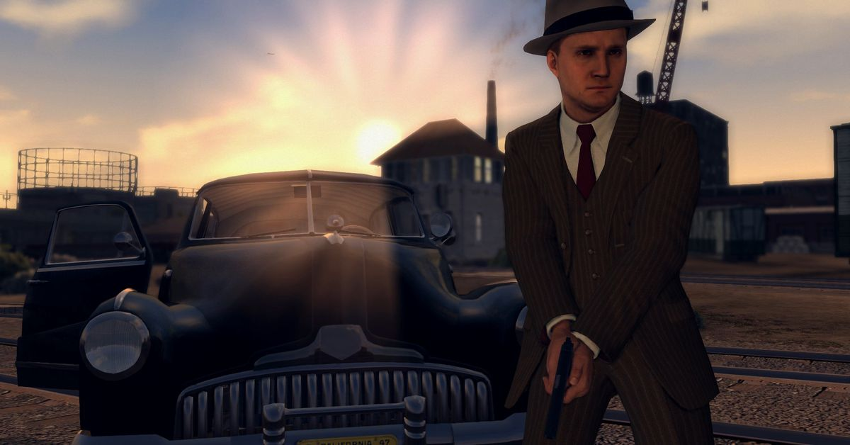 L.A. Noire makes smart use of the Switch's hardware features