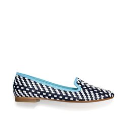 """<a href=""""http://f.curbed.cc/f/Coach_SP_Racked_032813_Catrin"""">Catrin</a> in navy/chalk, $228"""
