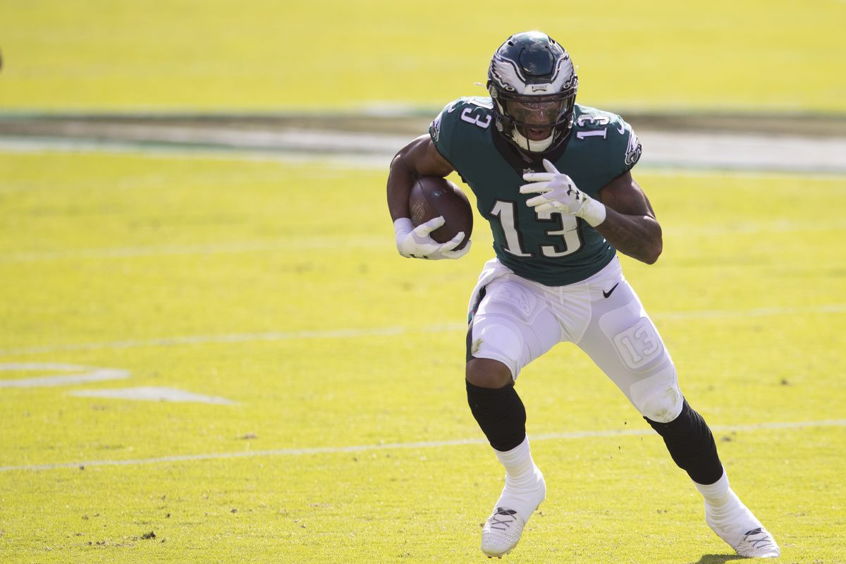 Fantasy football waiver wire advice, Week 7: Best available WRs include Travis  Fulgham, Keelan Cole, Tee Higgins - DraftKings Nation