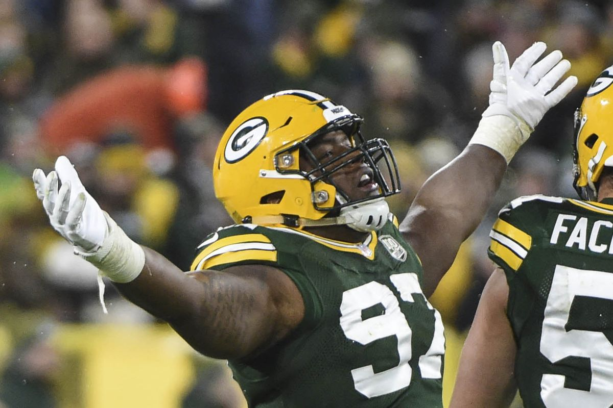 separation shoes e695a 42bdf 2019 Packers 90-man roster ranking, #4: Kenny Clark has only ...