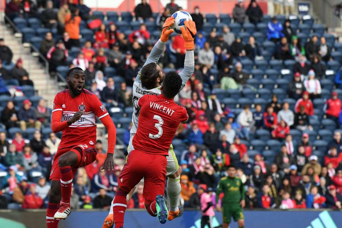 MLS: Portland Timbers at Chicago Fire