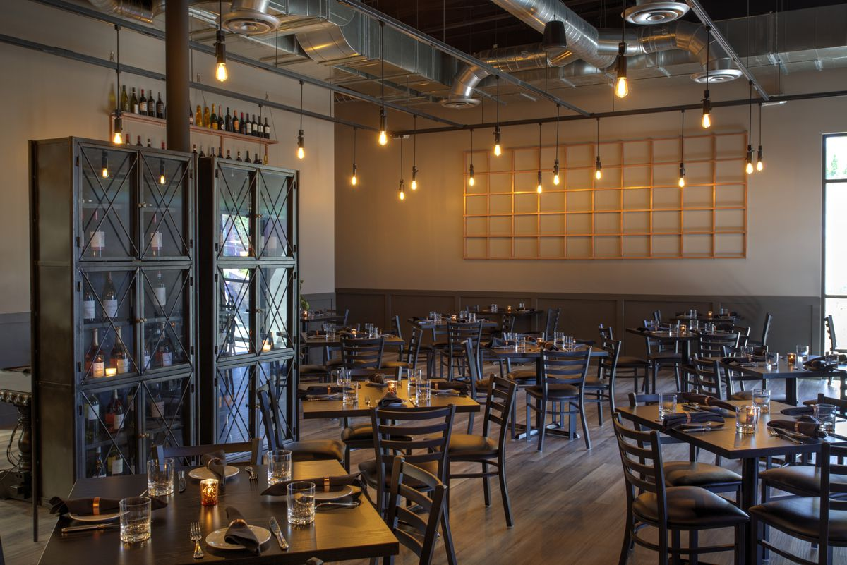 The main dining room at Locale Italian Kitchen